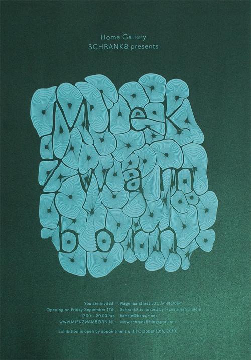 gezeefdrukte poster voor Schrank8 Home Gallery