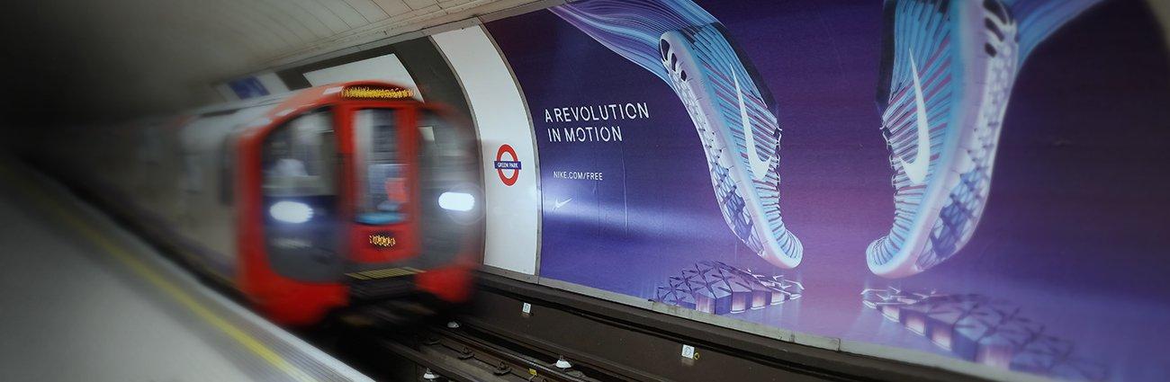 London underground Lahnpaper