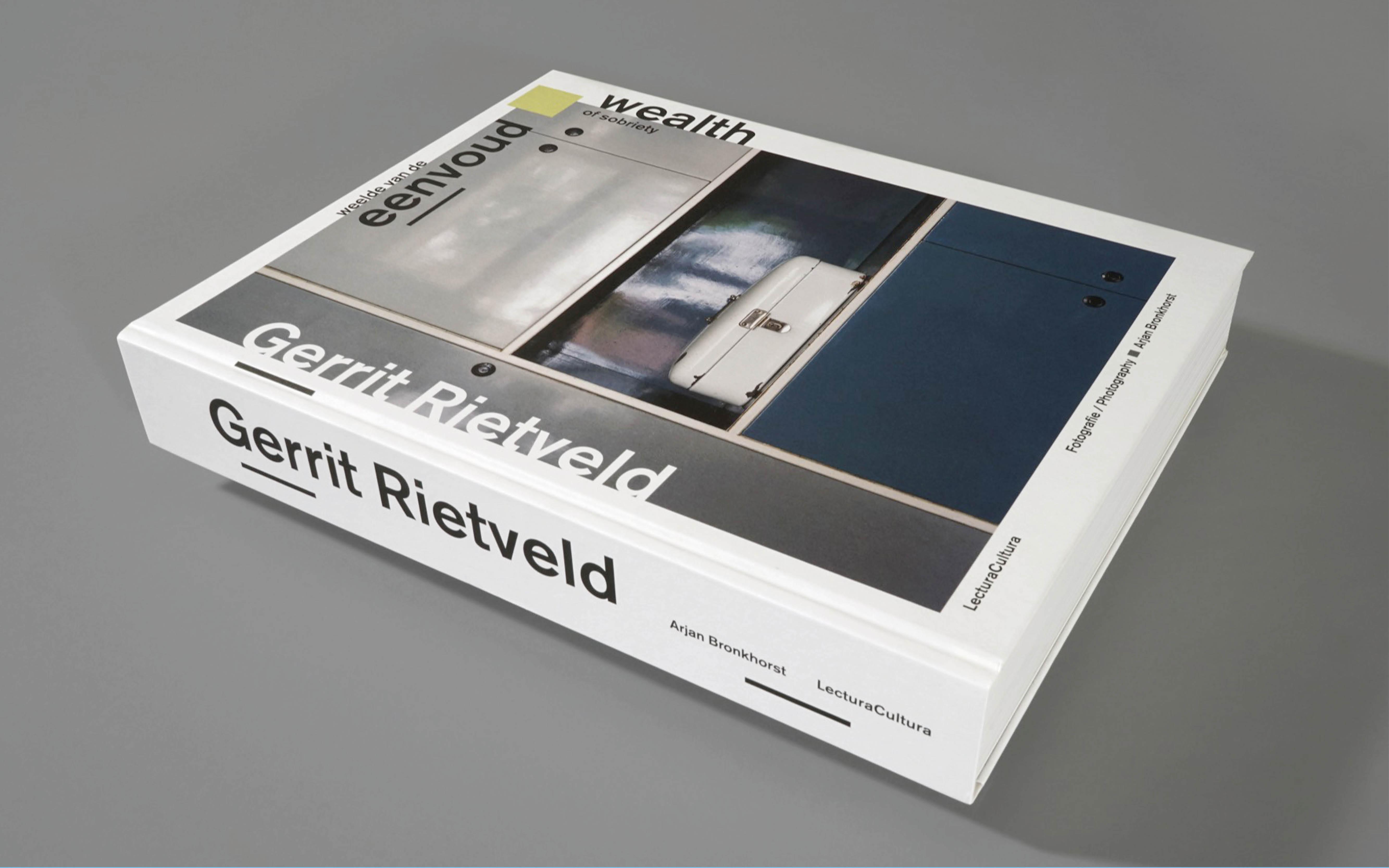 Voorkant van het boek Gerrit Rietveld, ontwerp door Beukers Scholma. De Monsterkamer interview