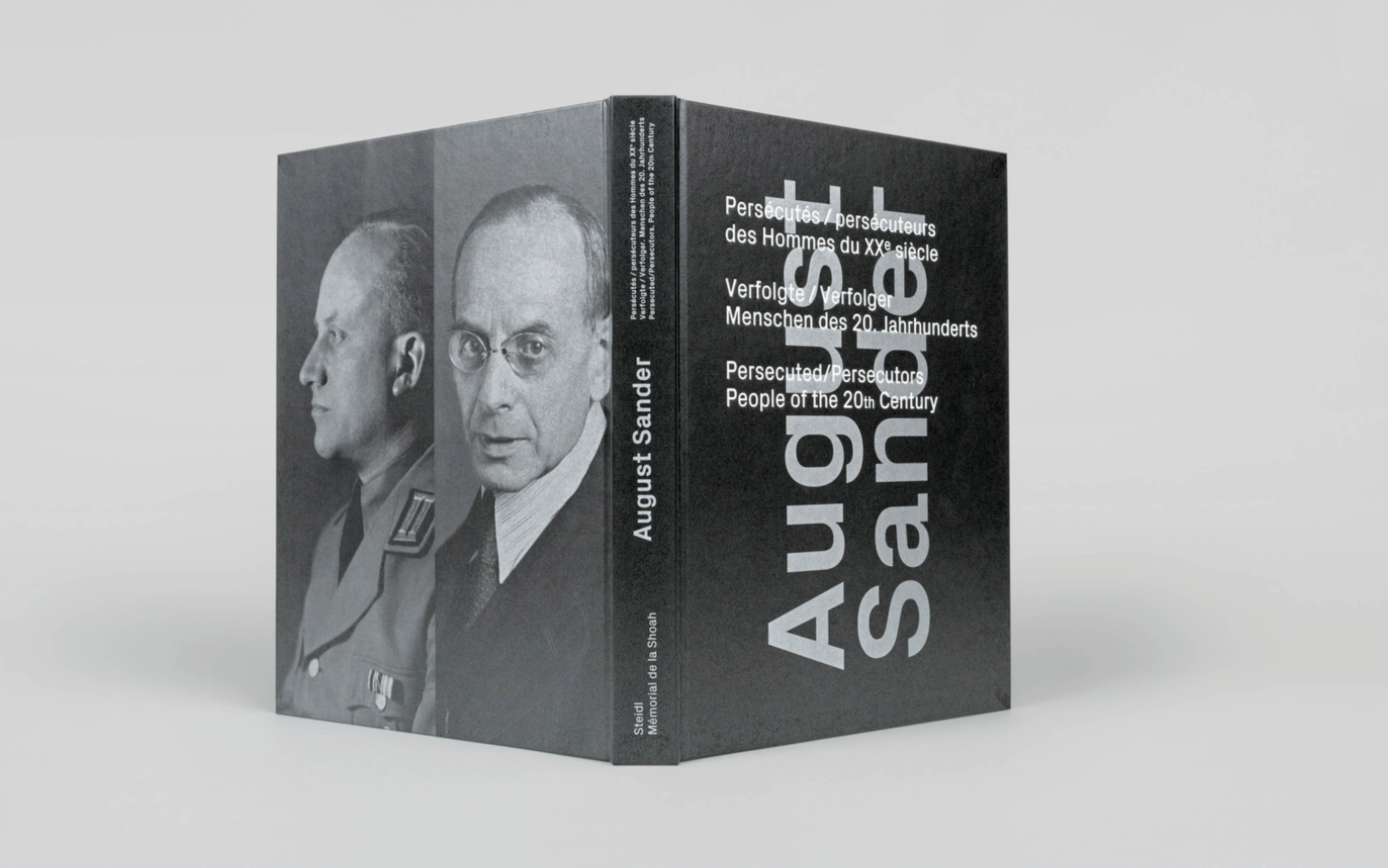 Omslag boek August Sander. Vormgegeven door Beukers Scholma. De Monsterkamer - een interview met Beukers Scholma.