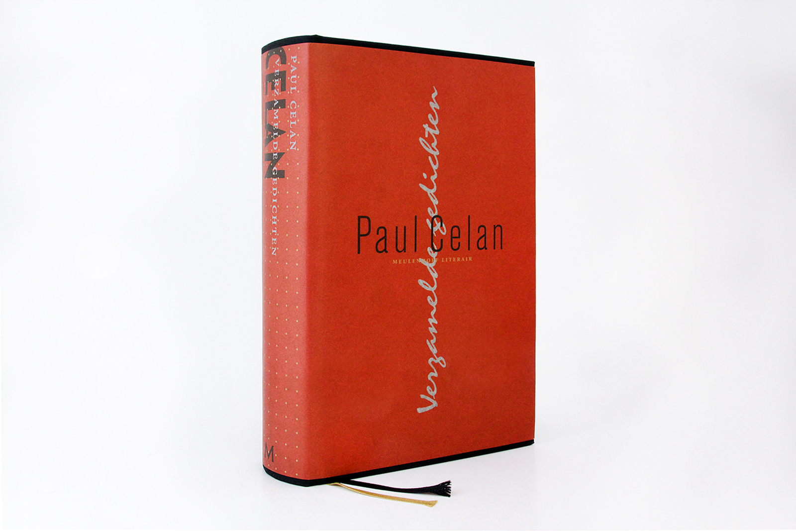 Omslag Paul Celan. De Monsterkamer - door Chin-Lien Chen