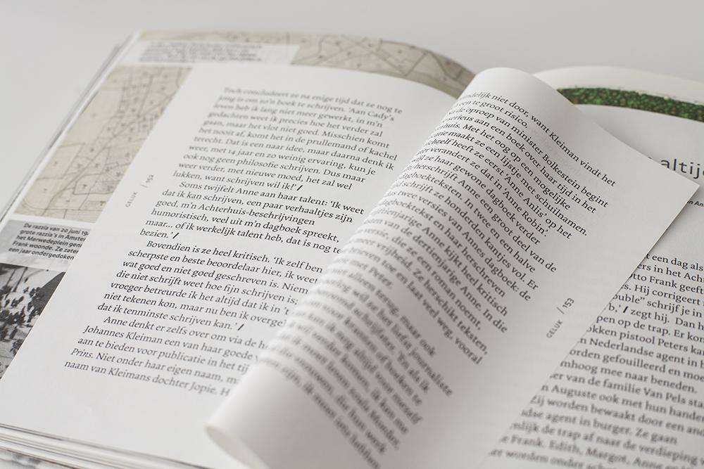 Spread van het boek dromen,durven en schrijven/ Joseph Plateau
