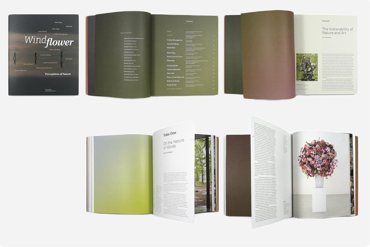 De catalogus 'Windflower' voor het Kröller Müller Museum door gebr silvestri. De Monsterkamer interview
