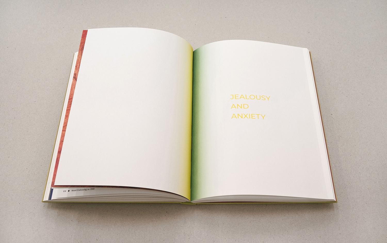 Twee pagina's uit het boek Omega's Eyes,Marlene Dumas on Edvard Munch. Guest Star René Daniëls. Munch Museum. Gabriele Götz. De Monsterkamer interview.