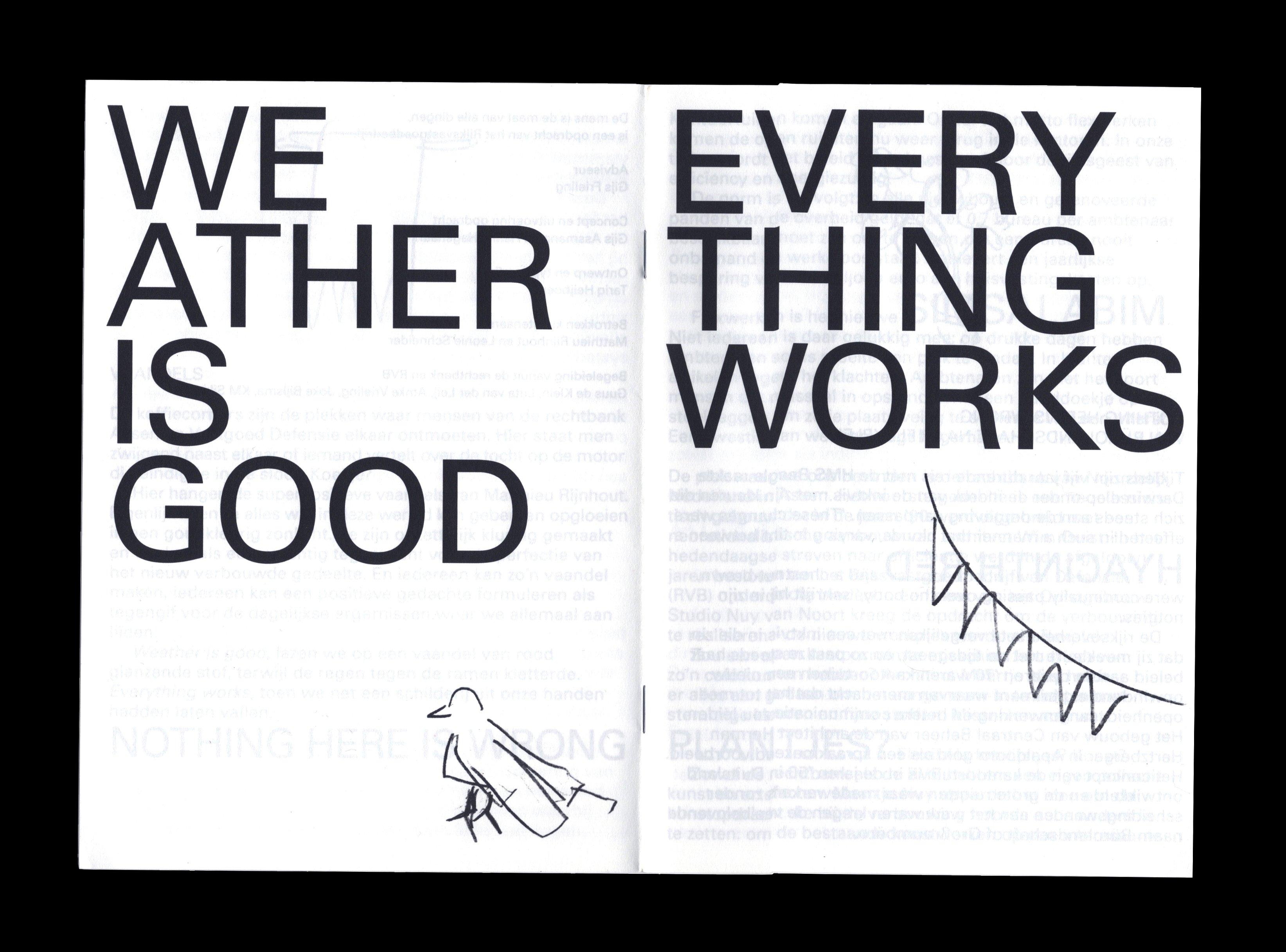 Twee pagina's uit 'De mens is de maat der dingen'. De Monsterkamer - Een interview met Tariq Heijboer