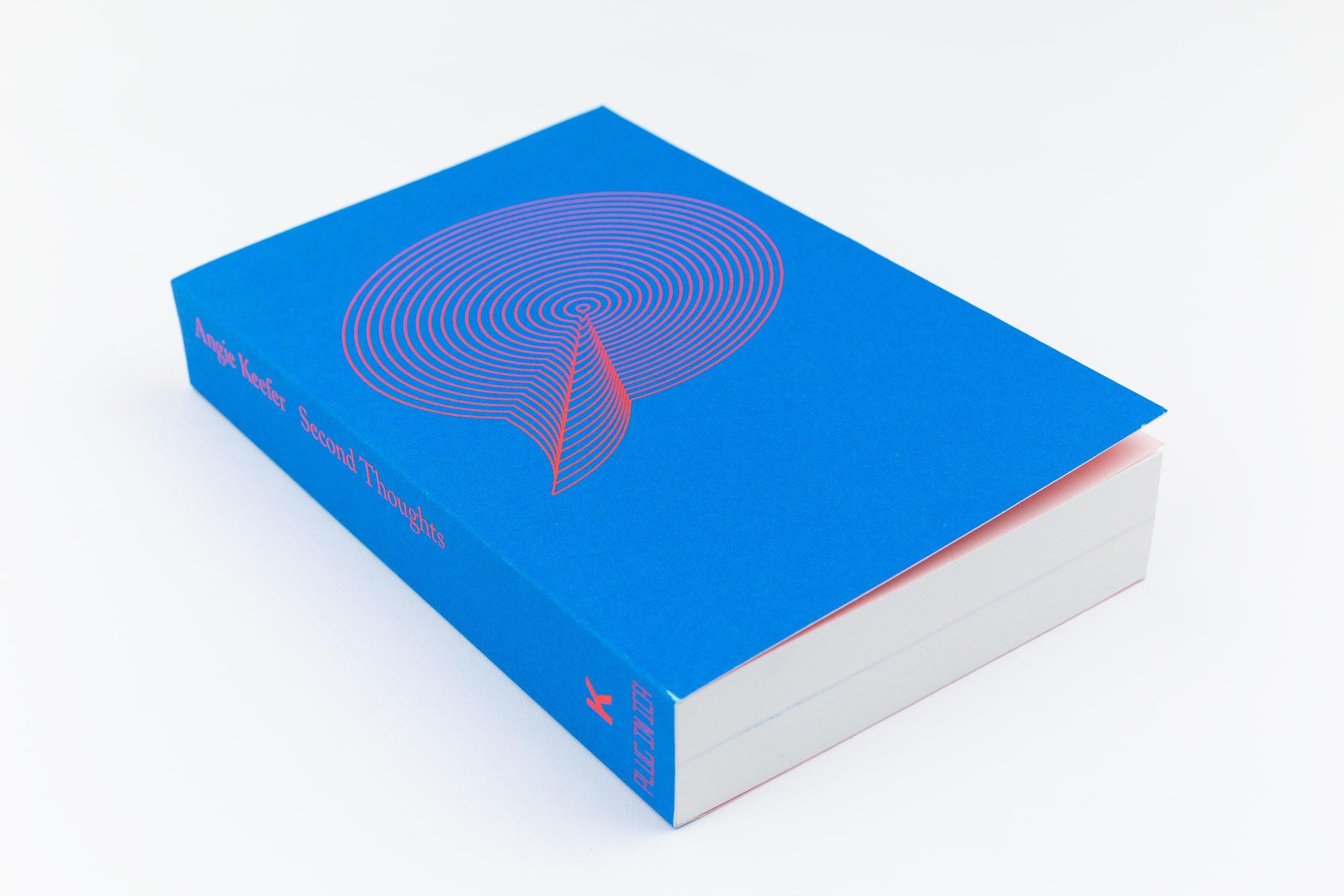 De omslag van het boek Angie Keefer: Second Thoughts. Kunstverein.