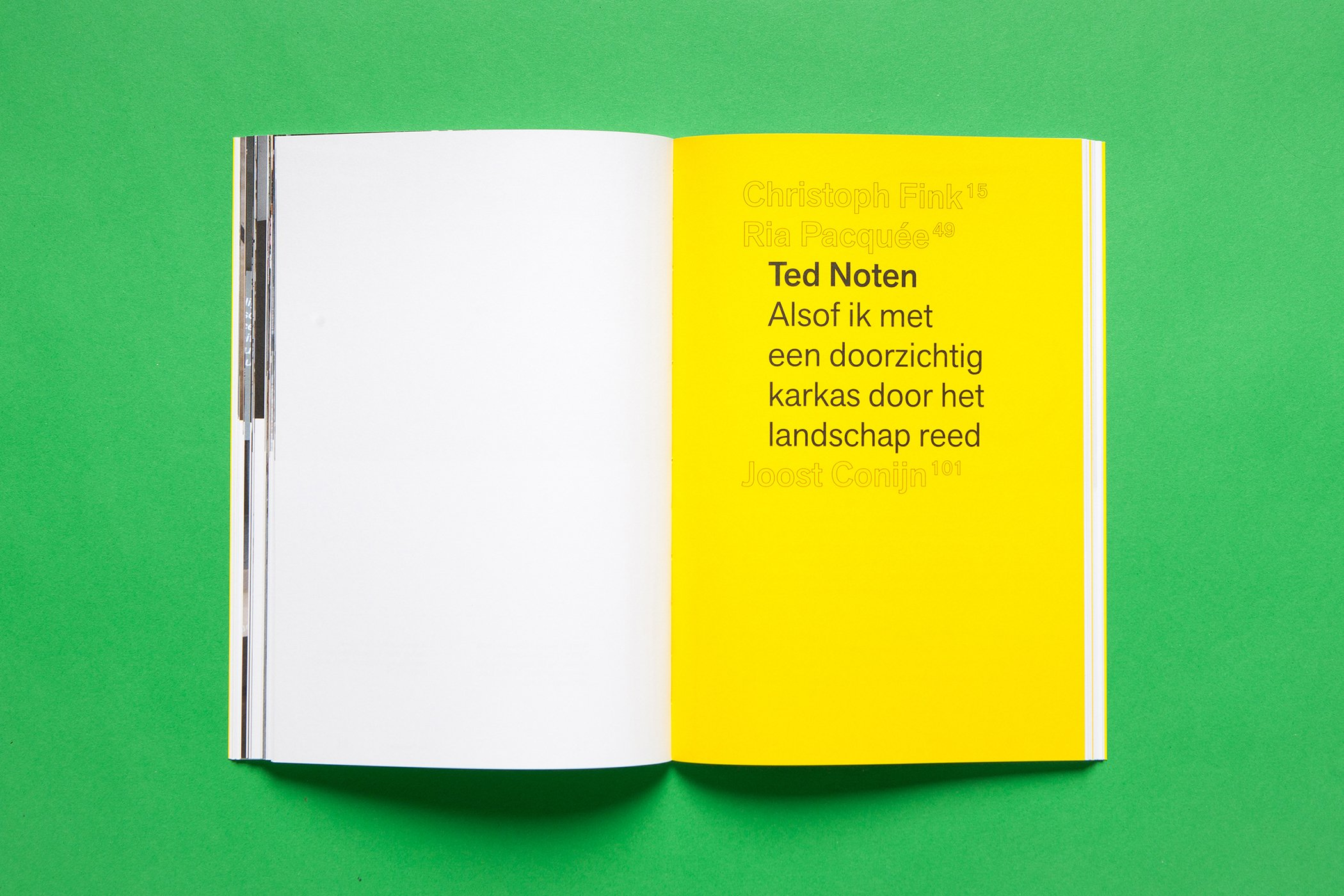 De Monsterkamer - Rob van Leijsen over papier.