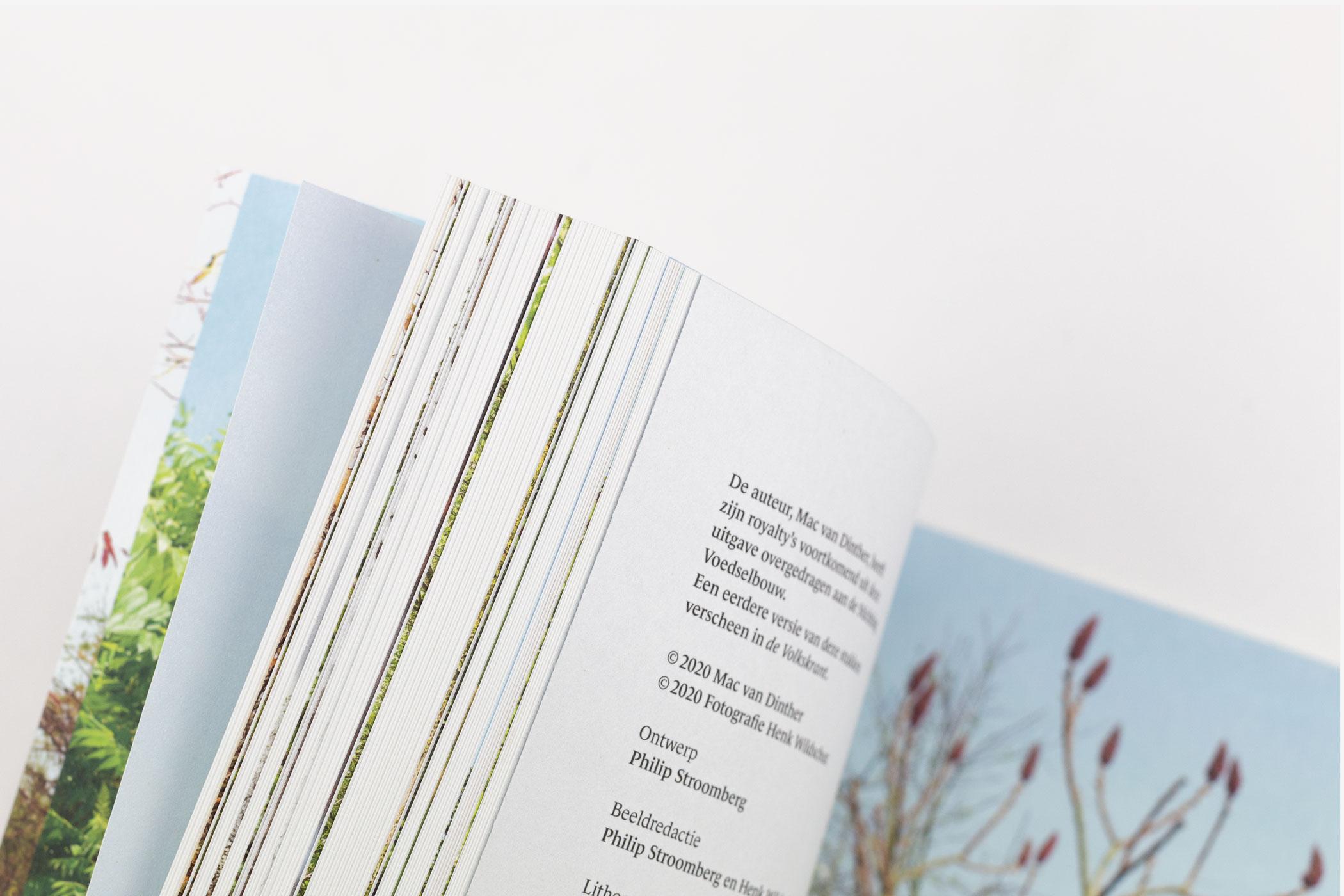Het Voedselbos. Vier Seizoenen Ketelbroek van Mac van Dinther. Ontwerp: Philip Stroomberg