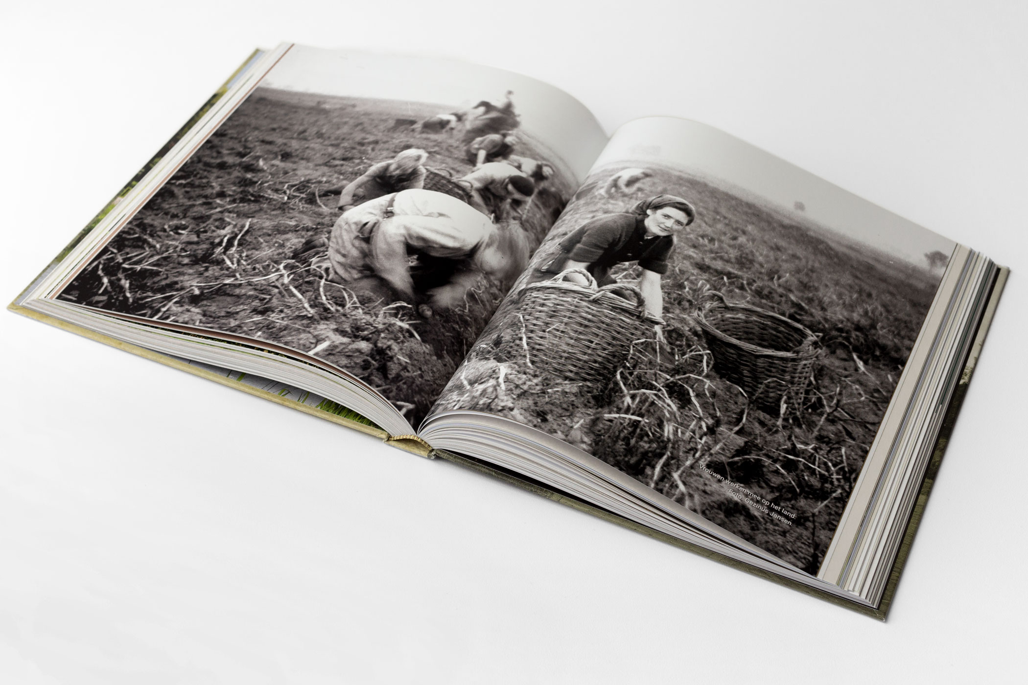 Sanne Dijkstra kwam naar De Monsterkamer om papier, een covermateriaal en een drukker te zoeken voor het boek Zwinderen.
