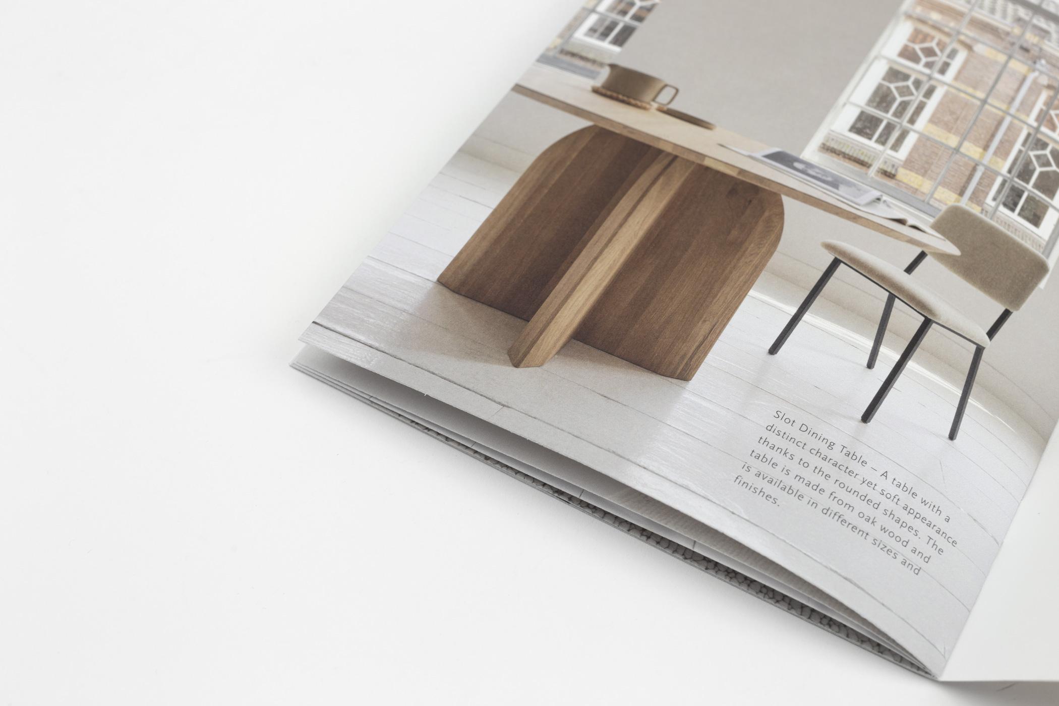 Fanny Olsthoorn kwam naar de Monsterkamer om papier uit te zoeken voor het autumn/winter magazine Studio HENK.