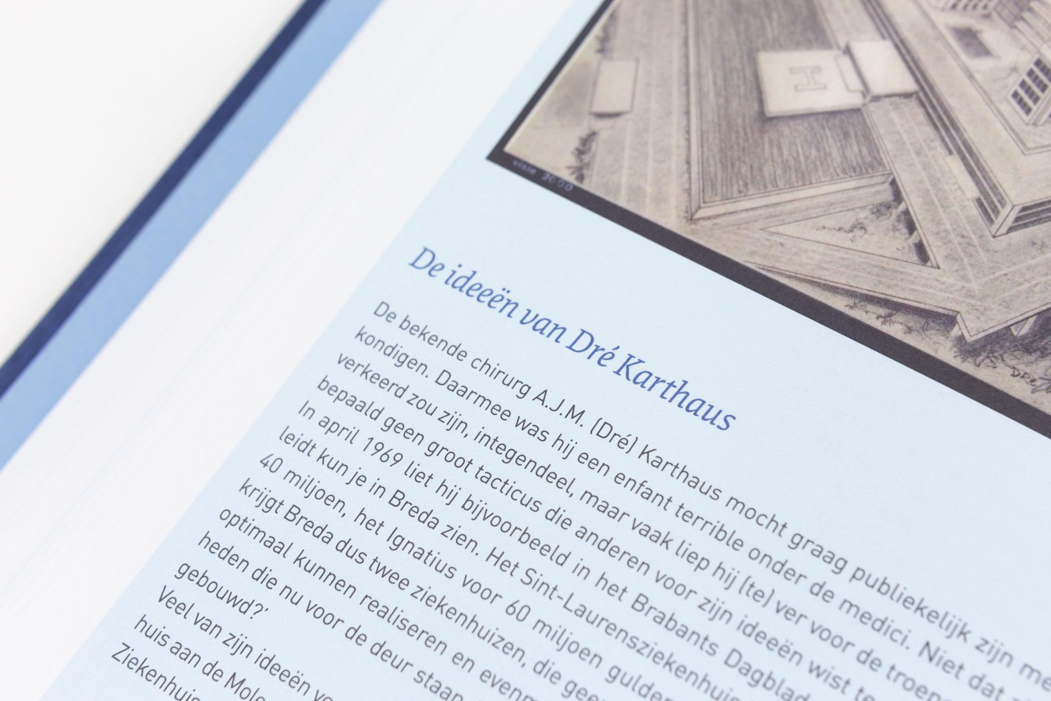 Kees Kanters kwam naar De Monsterkamer om papier vinden voor Amphia: zorg in de regio 1819-2019. Tweehonderd jaar regionale gezondheidszorg.