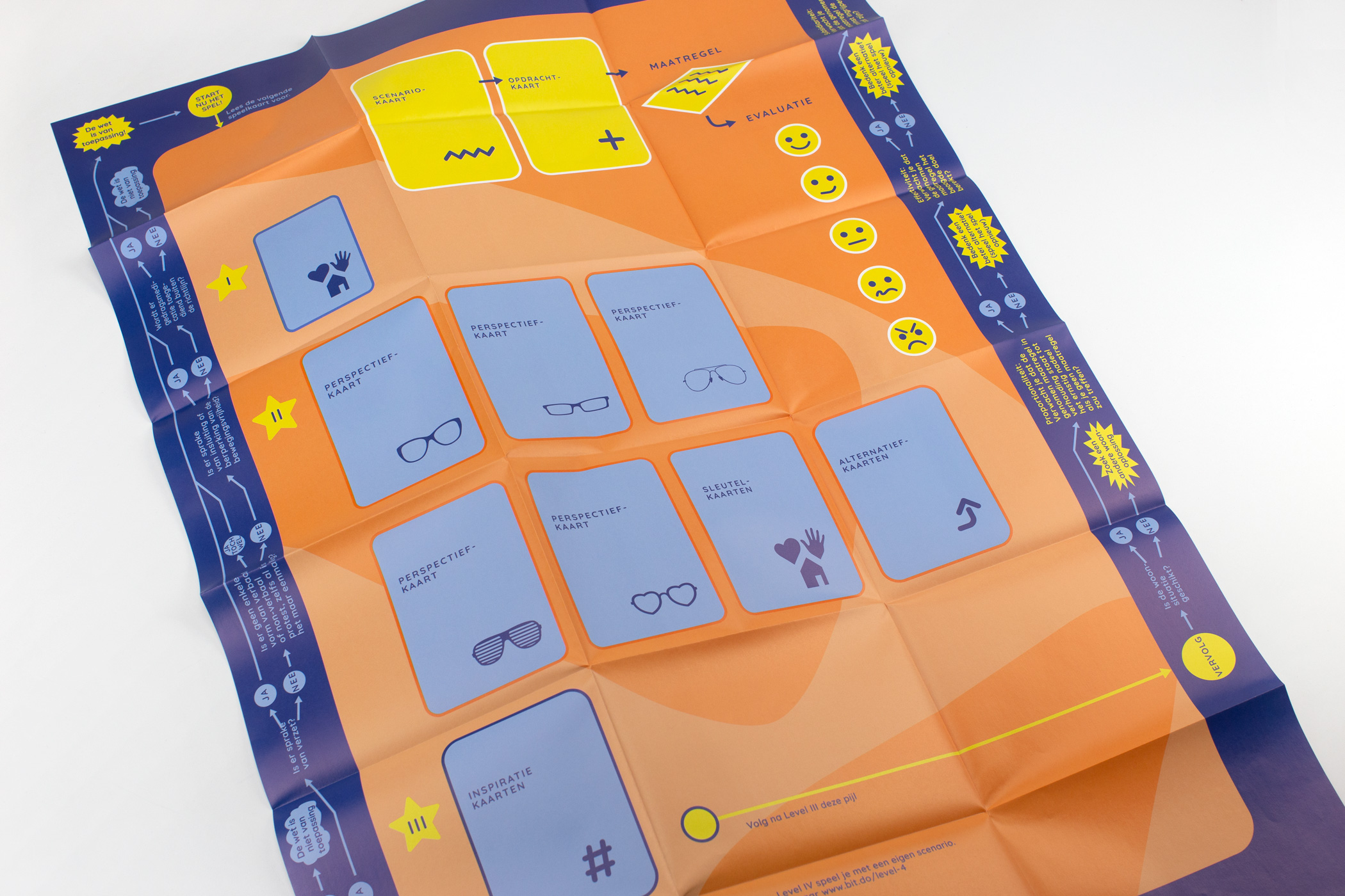 Marleen Verhulst kwam naar De Monsterkamer om papier vinden voor Spel Zorg en Dwang.