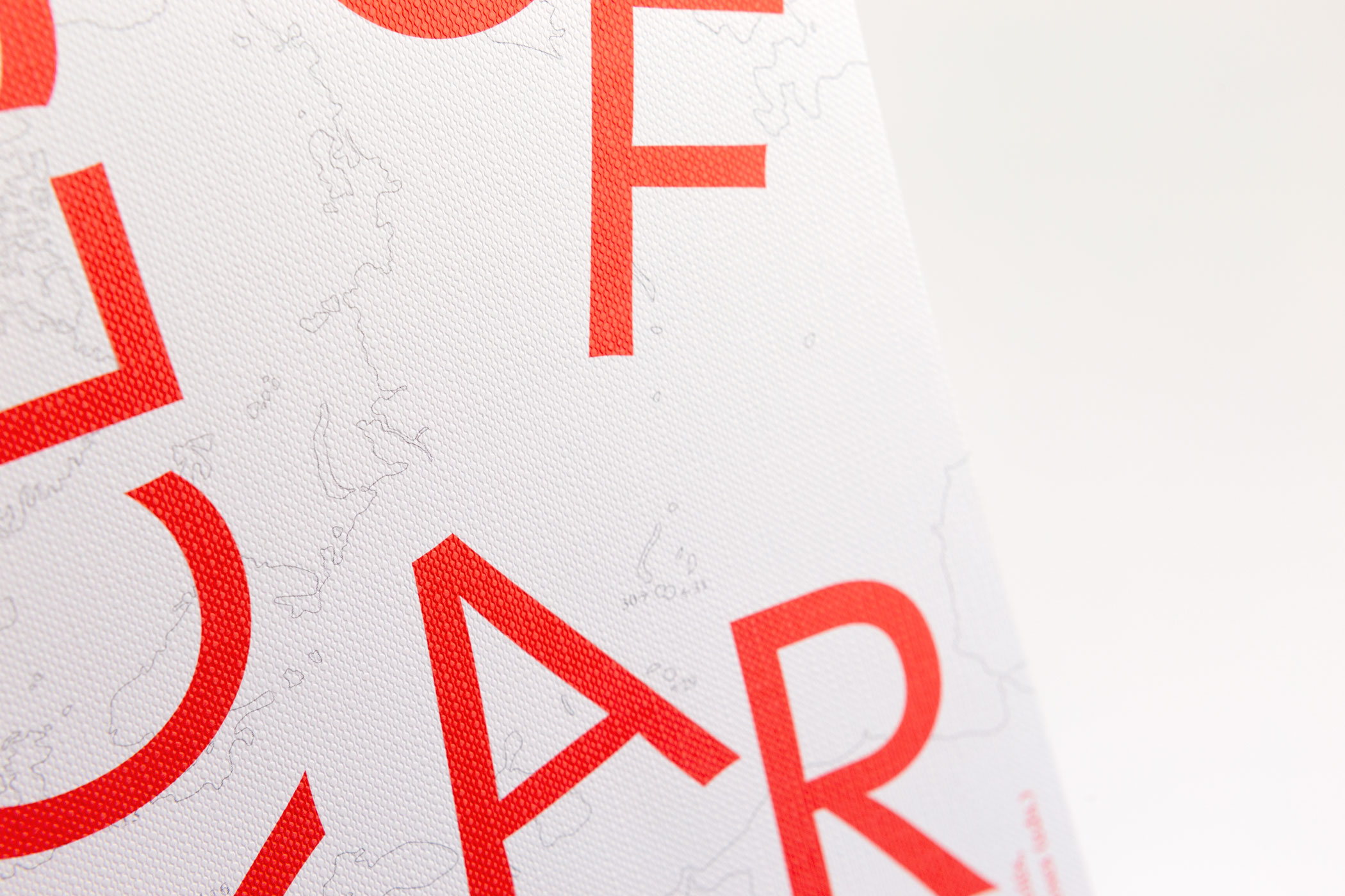 Lu Liang en The Exercises kwamen langs de Monsterkamer om papier uit te zoeken voor Forces of Art.
