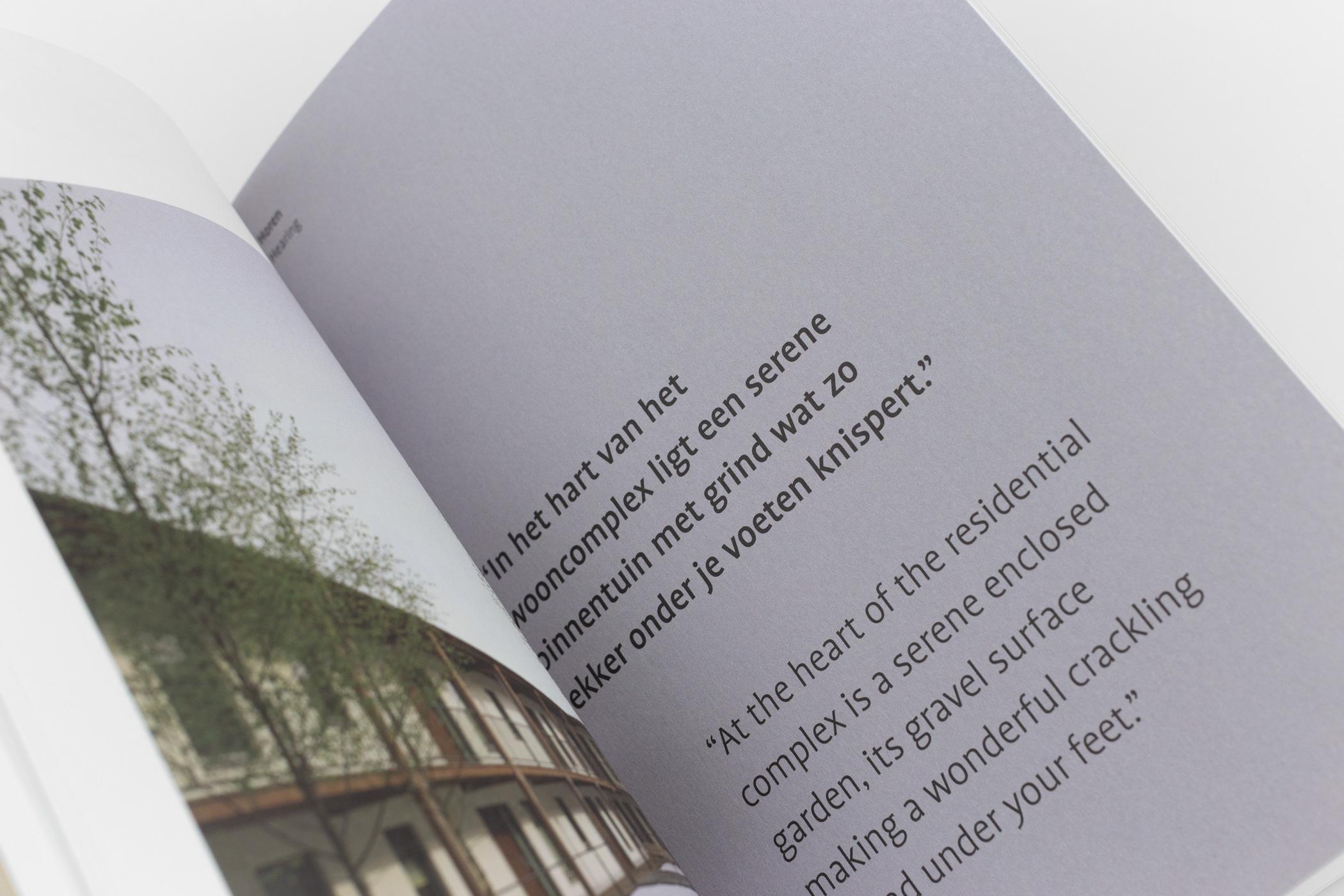Ontwerper Silvia Jaunsolo kwam naar de Monsterkamer om papier uit te zoeken voor het boek DP6 21 - De zintuigen / The senses.