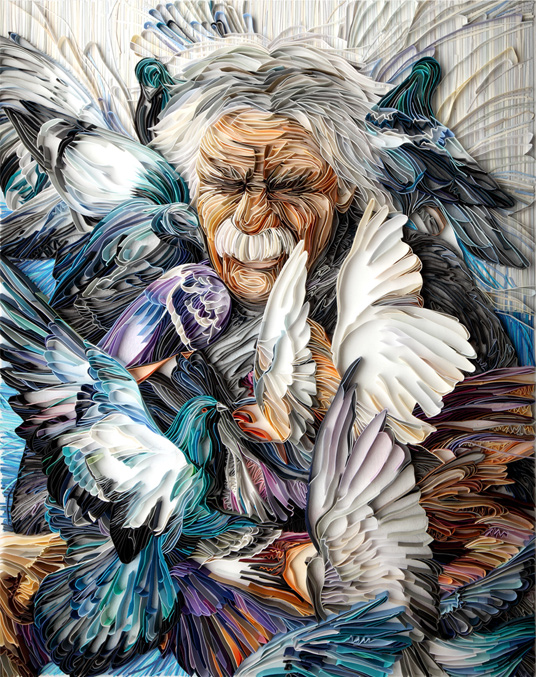 Yulia Brodskaya Love's doves
