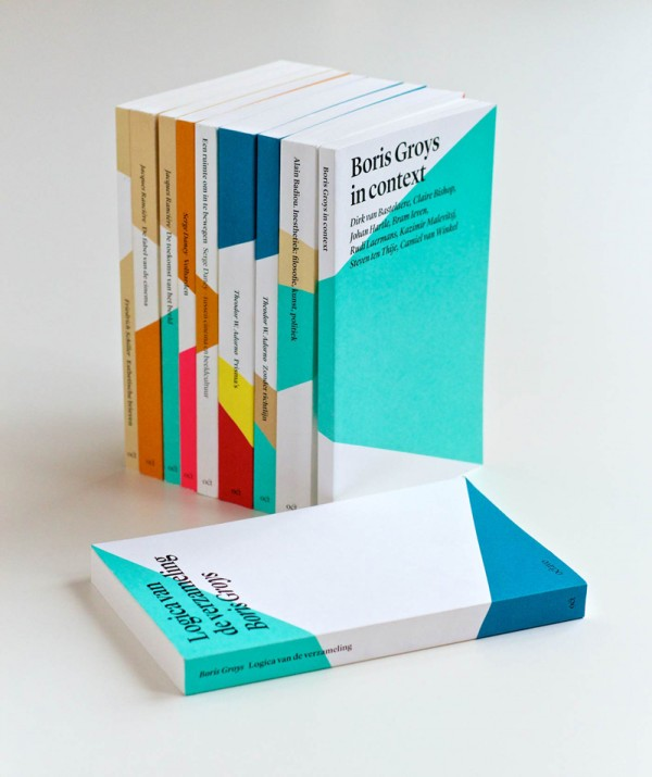 Octavo publicaties, main collection, cover: Rives design, book block: Fly n.6