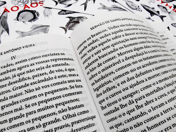 Sermão aos Peixes, book spread